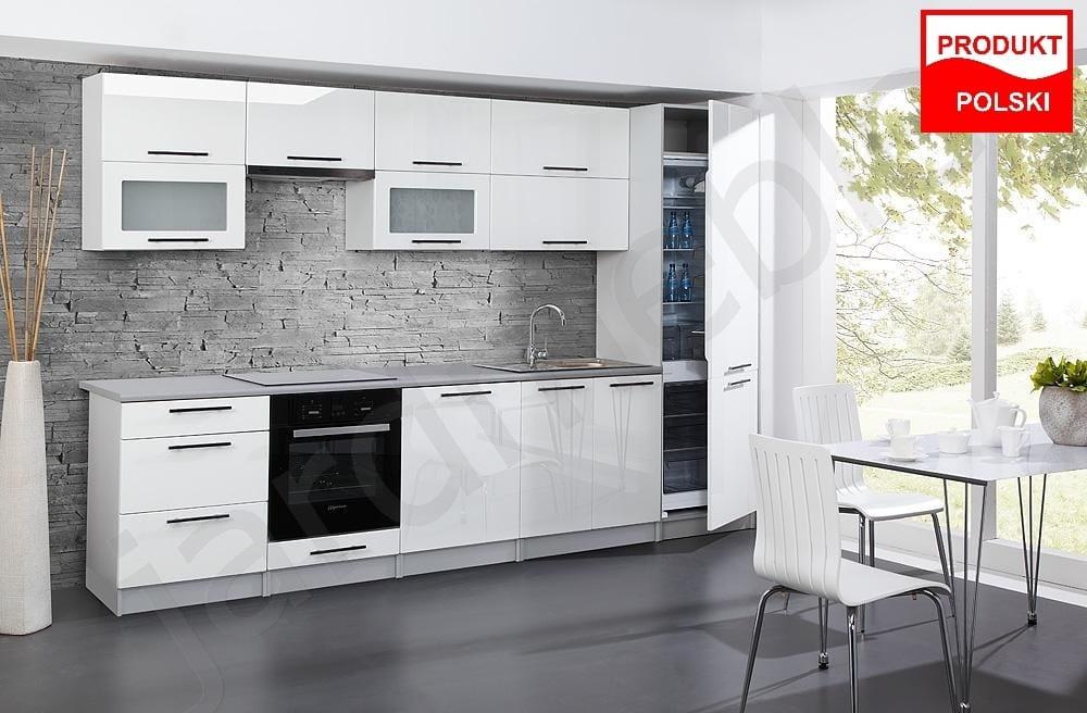 Promocja Meble Kuchenne Kuchnia Zestaw Angel Biały Połysk Mdf 32m